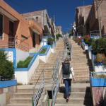 Going up the Stairs to the Condor Mirador